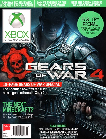 Official Xbox Magazine Cover - 3/1/2016
