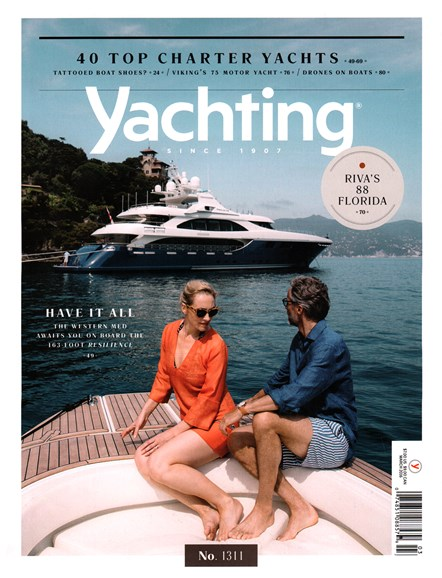 Yachting Cover - 3/1/2016