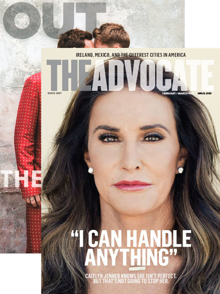 Out & The Advocate Edition Cover - 2/1/2016