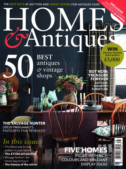 Homes & Antiques Cover - 2/1/2016