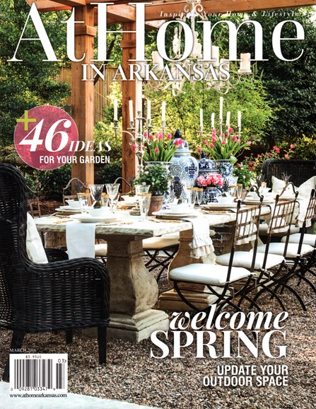 At Home In Arkansas Cover - 3/1/2016