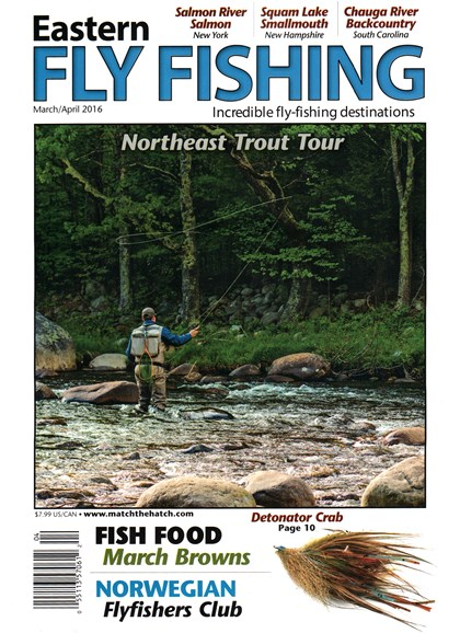 Eastern Fly Fishing Cover - 3/1/2016