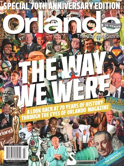 Orlando Magazine Cover - 3/1/2016