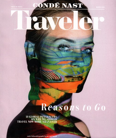 Condé Nast Traveler Cover - 3/1/2016