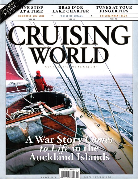 Cruising World Cover - 3/1/2016