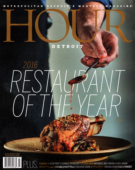 Hour Detroit Cover - 3/1/2016