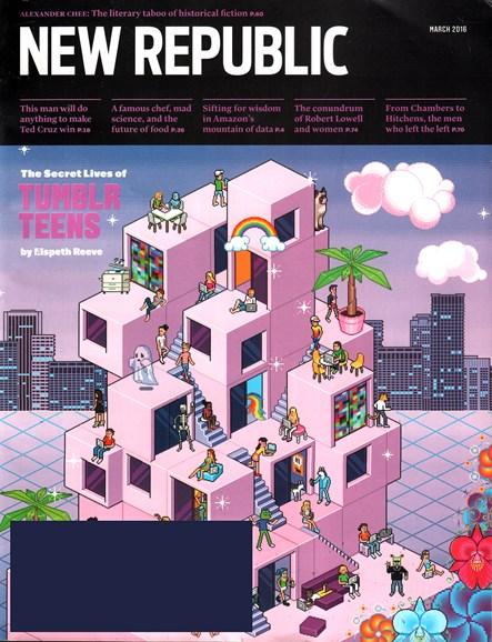 The New Republic Cover - 3/1/2016