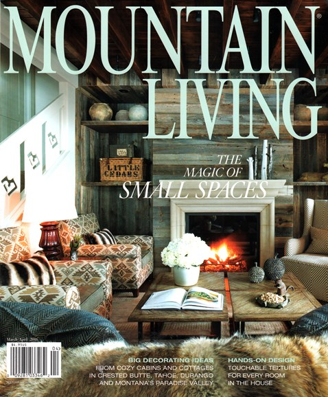 Mountain Living Cover - 3/1/2016