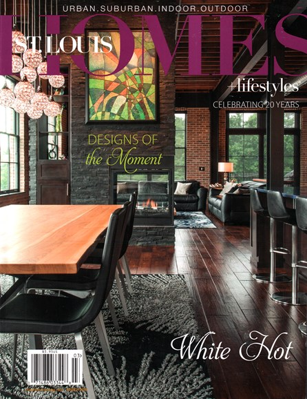 St. Louis Homes & Lifestyles Cover - 3/1/2016