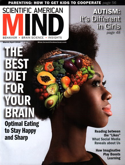Scientific American Mind Cover - 3/1/2016
