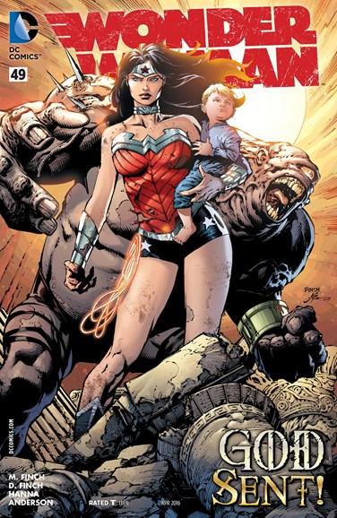 Wonder Woman Cover - 4/1/2016