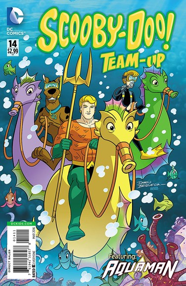 Scooby- Doo Team Up Cover - 3/1/2016