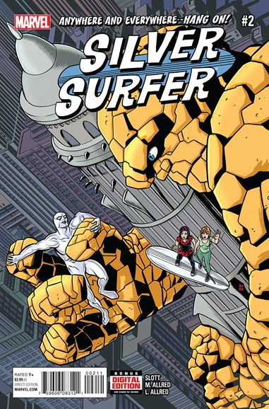 Silver Surfer Cover - 4/1/2016