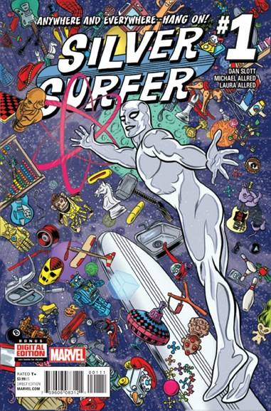 Silver Surfer Cover - 3/1/2016