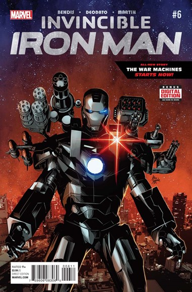 Tony Stark: Iron Man Cover - 4/1/2016