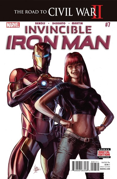 Tony Stark: Iron Man Cover - 5/1/2016