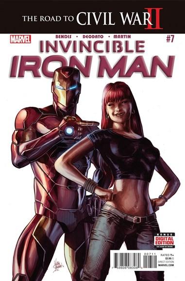 Tony Stark: Iron Man Cover - 5/1/2016
