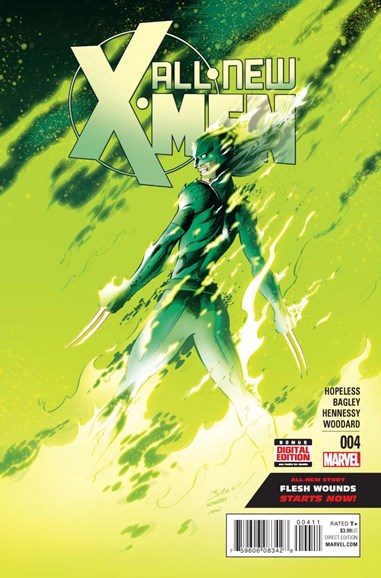 X-Men Blue Cover - 4/1/2016