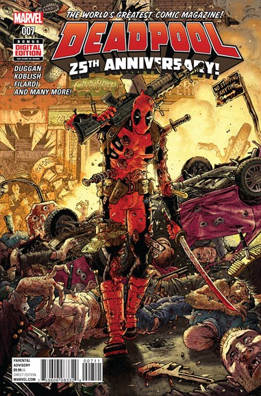 Deadpool Cover - 4/1/2016
