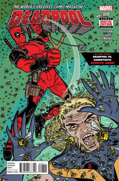 Deadpool Cover - 5/1/2016