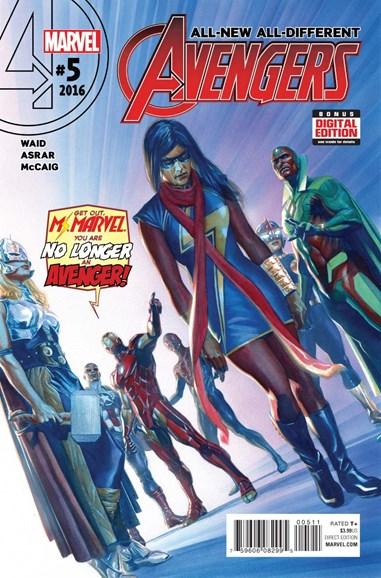 Avengers Cover - 4/1/2016