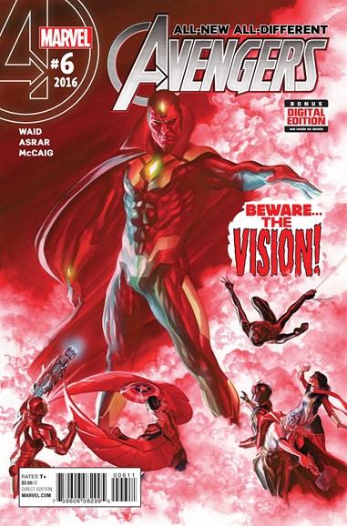 Avengers Cover - 4/15/2016