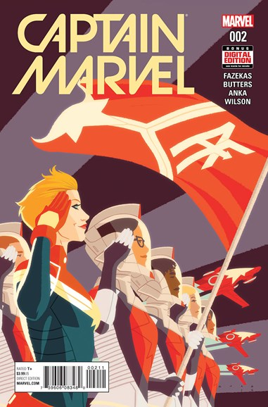 Captain Marvel Cover - 4/1/2016