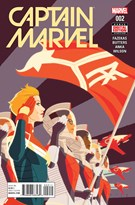 Captain Marvel Comic 4/1/2016