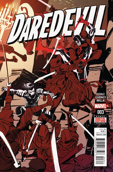Daredevil Cover - 3/1/2016