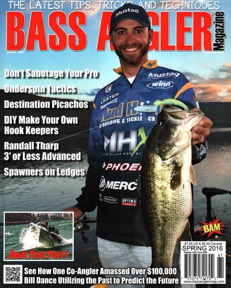 Bass Angler Cover - 3/1/2016