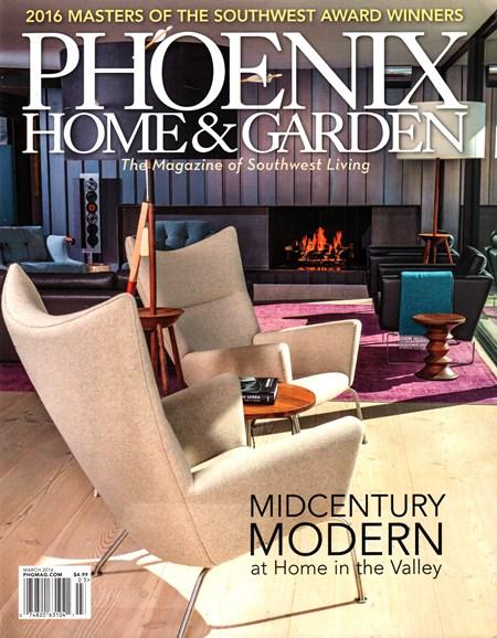 Phoenix Home & Garden Cover - 3/1/2016
