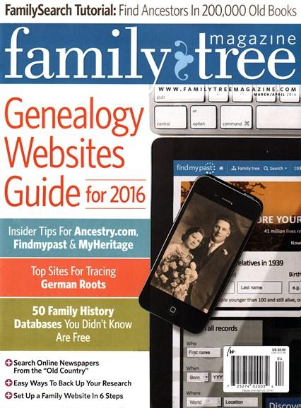 Family Tree Cover - 3/1/2016