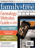 Family Tree Magazine 3/1/2016