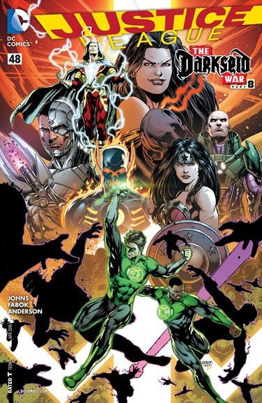 Justice League Cover - 4/1/2016