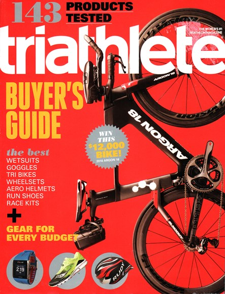 Triathlete Cover - 3/1/2016