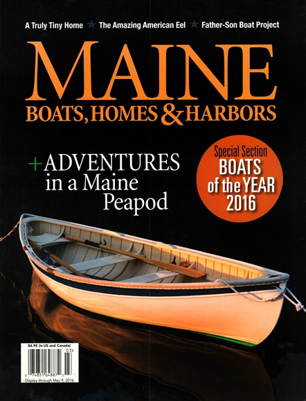 Maine Boats, Homes & Harbors Cover - 3/1/2016