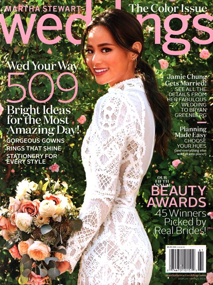 Martha Stewart Weddings Cover - 3/1/2016