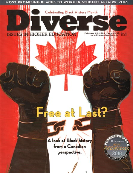 Diverse: Issues In Higher Education Cover - 2/25/2016