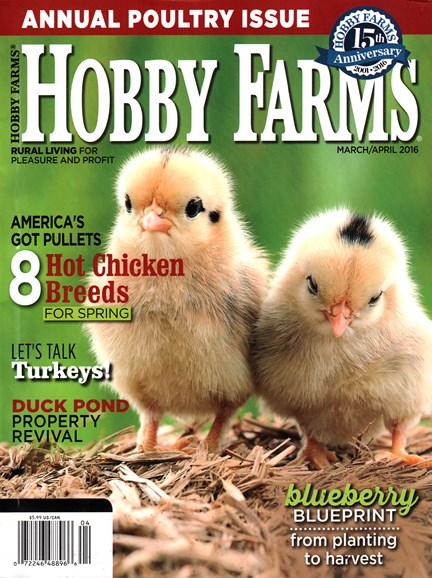 Hobby Farms Cover - 3/1/2016