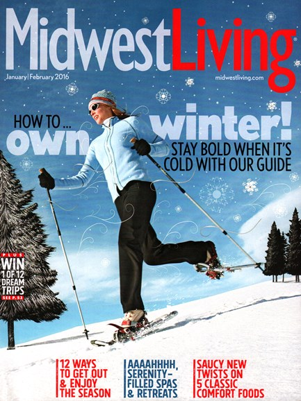 Midwest Living Cover - 1/1/2016