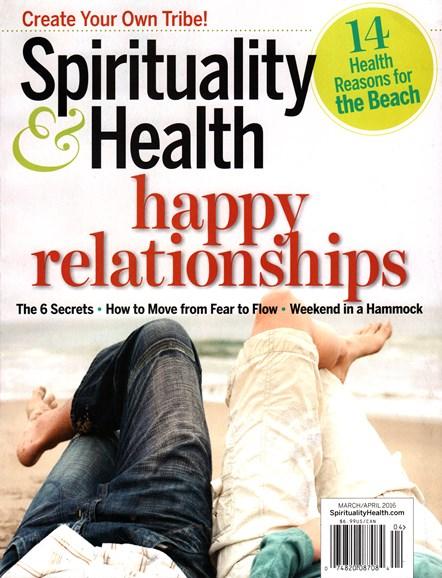 Spirituality & Health Cover - 3/1/2016