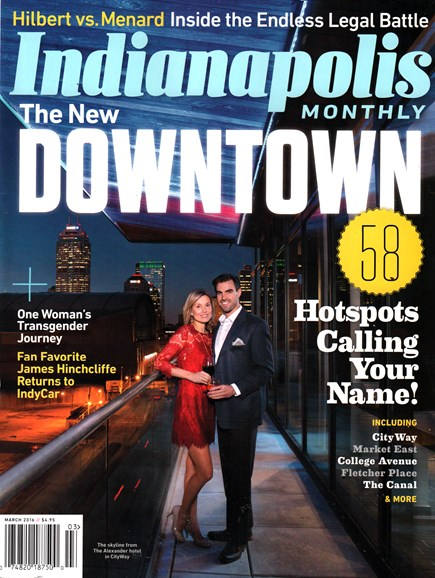 Indianapolis Monthly Cover - 3/1/2016