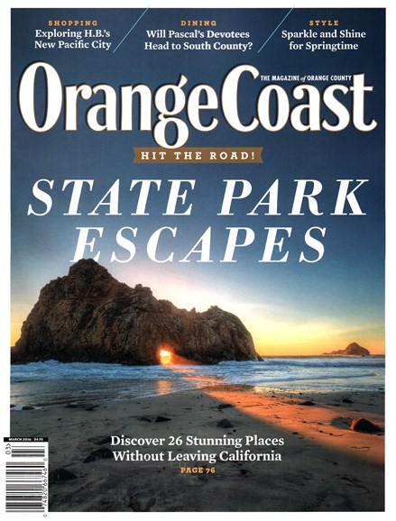 Orange Coast Cover - 3/1/2016