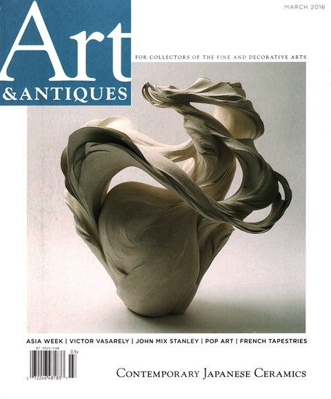 Art & Antiques Cover - 3/1/2016
