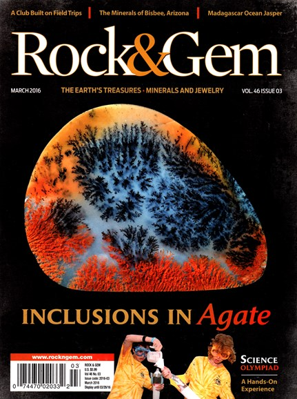 Rock & Gem Cover - 3/1/2016