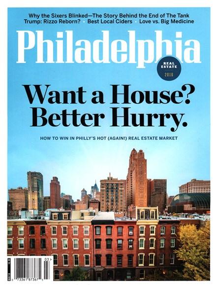 Philadelphia Magazine Cover - 3/1/2016