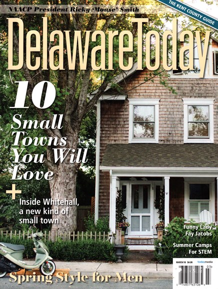 Delaware Today Cover - 3/1/2016