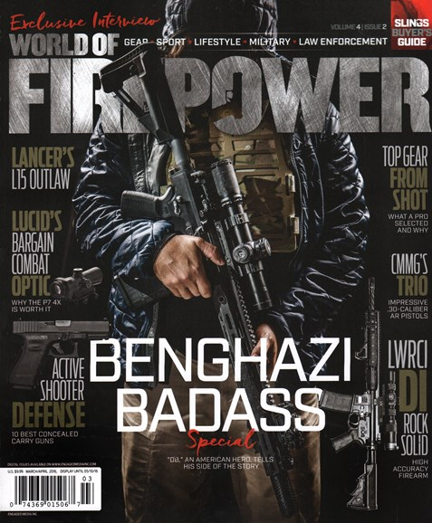 World of Firepower Cover - 3/1/2016