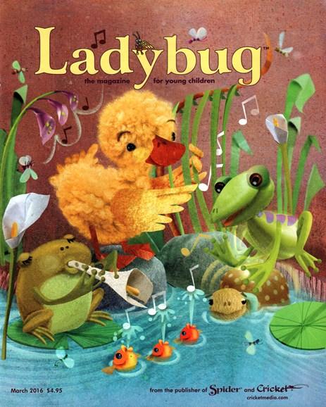 Ladybug Cover - 3/1/2016