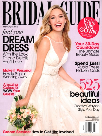 Bridal Guide Cover - 3/1/2016